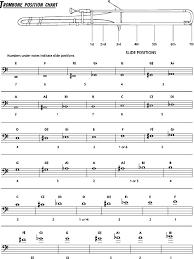 Trigger Trombone Slide Chart 26 Particular Alto Trombone Slide Chart