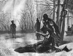 Последняя дуэль и смерть поэта Александра Пушкина