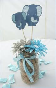 baby shower arrangements for table decoration baby boy shower