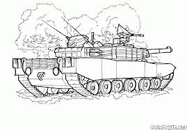 Small Picture Coloring page Tanks