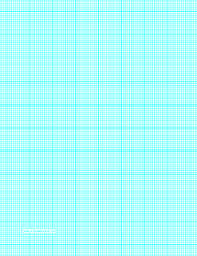 Printable Graph Paper With Twelve Lines Per Inch And Heavy