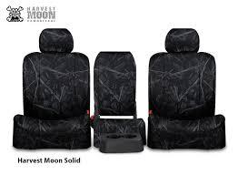 harvest moon camo seat covers black