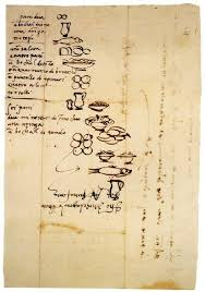 Grocery List Interesting Michelangelo's 44th Century Grocery List He Illustrated The