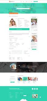 babysitter directory babysitting psd template by diadea3007 07 listing single post babysitter jpg