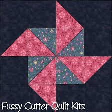 201 best FUSSYCUTTER.COM images on Pinterest | Bear claws, Quilt ... & Scrappy Fabric Amish Pinwheel Breezes Easy Pre-Cut Quilt Blocks Squares Kit Adamdwight.com