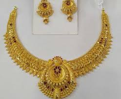 gold necklace designs in 20 grams