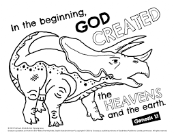 We have a wide range of free children will learn colors through a collection of preschool color worksheets that involve matching, drawing, recognition and of course coloring. Triceratops Coloring Page Kids Enjoying Jesus