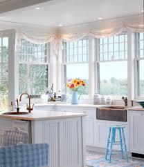 adorable kitchen window valances ideas