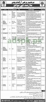 General Job Applications Mesmerizing FWO Pakistan Jobs 48 General Manager IT Managers Deputy Managers