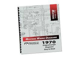 mustang pro wiring diagram manual large format lamustang 1970 mustang pro wiring diagram manual large format