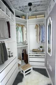 walk in closet dream closet makeover reveal walk thru closet behind bed