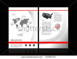 cover page design the book cover is simple vector white brochure template design with