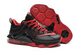 all lebron shoes 1 12. lebron 12 cheap low red black all shoes 1