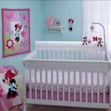 Minnie Mouse Bedroom Curtains Baby Nursery Best Baby Room With Crib Bedding Sets For Girls Wall