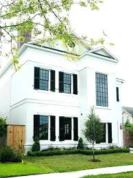 black exterior window shutters. Contemporary Black Black Exterior Windows Window Trim Paint  Traditional Home With White And Shutters Framed  Intended