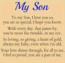 To My Son Quotes Best My Son Quotes Inspirational Quotes Of The Day My Son Quotes