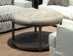 round fabric coffee table round tufted coffee table for amazing of round tufted ottoman coffee table