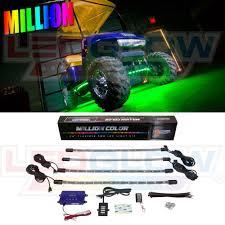 Golf Cart Underbody Lights Details About 4pc Ledglow Million Color Led Golf Cart