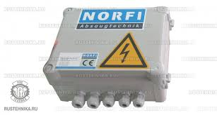 norfi Контрольный блок управления вентилятором norfi 74 5100 000 Контрольный блок управления вентилятором для нескольких точек ВКЛ ВЫКЛ