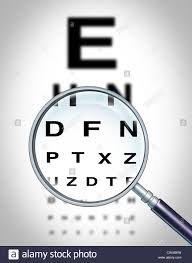 Blurry Eye Test Chart Eye Exam Chart Blurred Stock Photos Eye Exam Chart Blurred