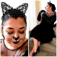 elegant cat makeup tutorial costume no fancy facepaint or special skills required
