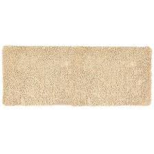 ivory 24 in x 60 in memory foam bath mat