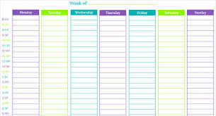 Free Scheduling Templates These Time Blocking Free Printable Planners Will Help You Avoid