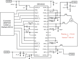 bldc motor controller circuit diagram bldc image drv8332 13a three phase brushless dc motor driver inrush on bldc motor controller circuit diagram