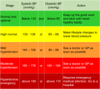 High Blood Pressure Chart Canada What Time Of Day Is