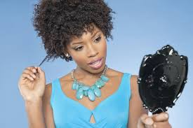 dreamstime african american woman natural hair styling