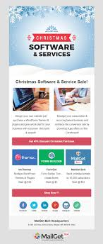 5 Christmas Email Templates Free Customizable Marketing 0