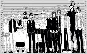 Noragami Height Chart Soul Eater Height Chart Souleater Soul Eater Kid Soul