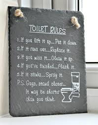 Boy Bathroom Sign 15 Hilarious Signs To Hang In Your Bathroom That May Make You Pee