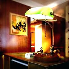 bankers desk lamp green green shade bankers desk lamp