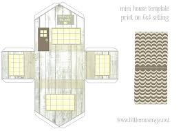 Gingerbread House Templates Paper To Print Printable Gemalog