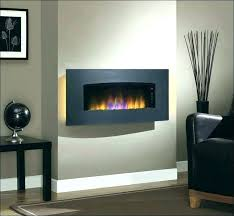 electric in wall fireplaces wall mount electric
