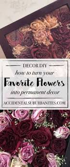 DIY dried roses in a shadow box - preserve roses! want to turn a meaningful  bouquet into long-lasting home decor? Here's how to dry and preserve your  ...