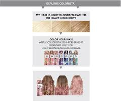 Semi Permanent Hair Dye Colour Chart Semi Permanent Hair Color