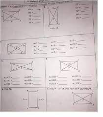 Unit 7 test polygons and quadrilaterals gina wilson. Unit 7 Polygons Quadrilaterals Homework 4 Rhombi And Squares