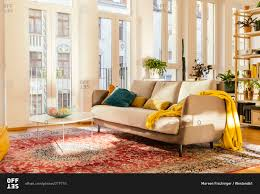 oriental rug living room design red persian modern living room with post