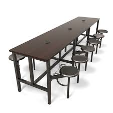 break room tables and chairs. OFM Endure Series 9012 Standing Height 12 Seat Powered Work Table Break Room Tables And Chairs