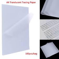 Dragon <b>100pcs</b> A4 <b>Translucent Tracing</b> Paper Copy Transfer ...