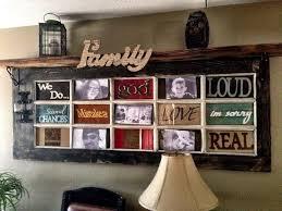 diy door picture frame