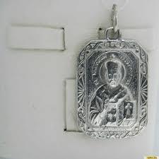 <b>Серебряная икона</b> 925 пробы без камней 2200000243652 ...