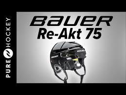 Bauer Re Akt 75 Size Chart Bauer Re Akt 75 Hockey Helmet Pure Hockey Equipment
