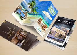 Brochures Custom Brochure Printing Design And Print Brochures