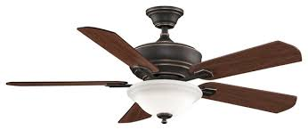 indoor ceiling fans 2 light w bronze accent finish e11 bulbs 52 inch 150 watts