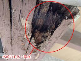 「住宅 木部 劣化」の画像検索結果