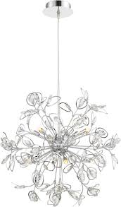 eclectic crystal chandeliers