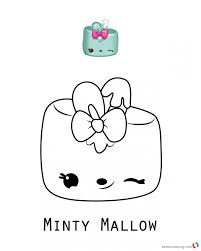 Minty Mallow Num Noms Coloring Pages Series 17 Free Printable